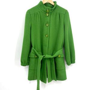 Beth Bowley Green Pea Coat Jacket